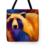 Abstract Grizz II Tote Bag