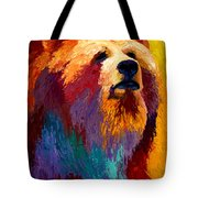 Abstract Grizz Tote Bag