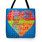 Abstract Heart 50218 Tote Bag