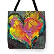 Abstract Heart Series Tote Bag