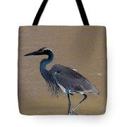 Abstract Heron Art Tote Bag
