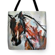 Abstract Horse 12 Tote Bag