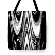 Abstract IIi Death Mask Tote Bag