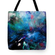 Abstract Improvisation Tote Bag by Wolfgang Schweizer