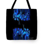 Abstract In Blue 2 Tote Bag