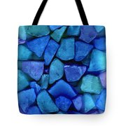 Abstract In Glass Tote Bag