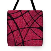 Abstract In Red And Black Tote Bag