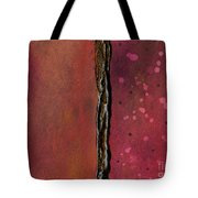 Abstract In Rose And Copper Tote Bag