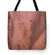 Abstract In Rust Tote Bag