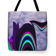 Abstract In The Clouds Tote Bag