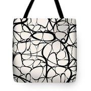 Abstract Interlacing Tote Bag
