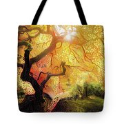 Abstract Japanese Maple Tree 2 Tote Bag