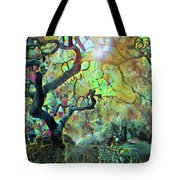Abstract Japanese Maple Tree 3 Tote Bag
