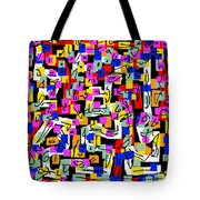 Abstract Laberinto 2 Tote Bag