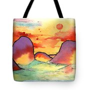 Abstract Landscape 006 Tote Bag