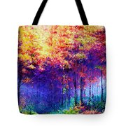 Abstract Landscape 0830a Tote Bag