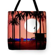 Abstract Landscape Beach Art 3 - By Diana Van Tote Bag