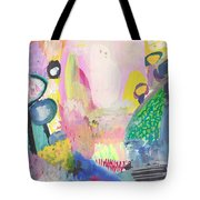 Abstract Landscape, Following The Light Tote Bag