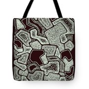 Abstract Landscape - Hand Drawn Pattern Tote Bag