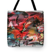 Abstract Landscape Sketch13 Tote Bag
