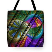 Abstract Levels Of Color Tote Bag