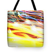 Abstract Light Tote Bag