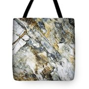 Abstract Limestone And Silica Texture Tote Bag