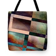 Abstract Lines And Shapes Tote Bag