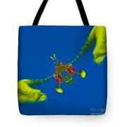 Abstract Lobster 9137205141 Tote Bag