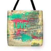 Abstract Love V2 Tote Bag