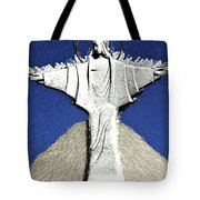 Abstract Lutheran Cross 5a Tote Bag