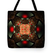 Abstract Mandala 2 Tote Bag