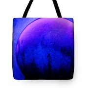 Abstract Metal Ball Tote Bag