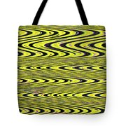 Abstract Metal Plate Tote Bag