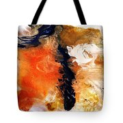 Abstract Metal Wall Art, Print On Aluminum, Original Oil Painting Tote Bag