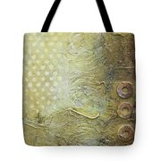 Abstract Modern Art Earth Tones Tote Bag
