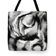 Abstract Monochome 150 Tote Bag