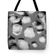 Abstract Monochome 152 Tote Bag