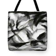 Abstract Monochome 156 Tote Bag