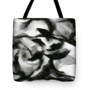 Abstract Monochome 164 Tote Bag