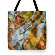 abstract mountains I Tote Bag