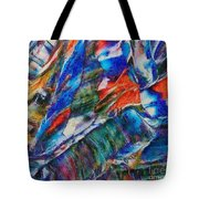 abstract mountains II Tote Bag