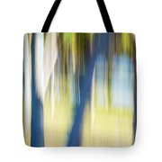 Abstract Moving Trees 30 Tote Bag