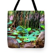 Abstract Nature 4043 Tote Bag