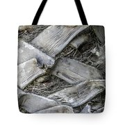 Abstract Nature Tropical Palm Tree Bark 1873a Tote Bag