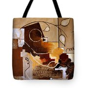 Abstract Nature Wall Tote Bag