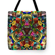 Abstract Of Abundant Colors Tote Bag