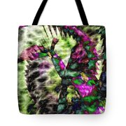 Abstract Of An Iris Tote Bag