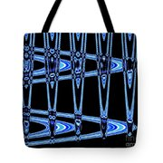 Abstract Of Blue Clock Works Tote Bag
