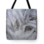 Abstract Of Ice Tote Bag
